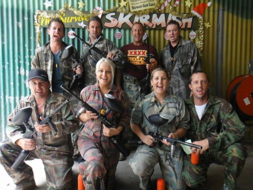 """Xmas Party """"Skirmish with The Pest Company"""""""