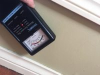 Termite Inspection moisture meter