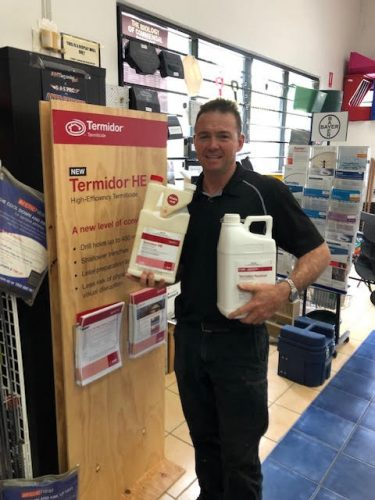 Termidor Controlling Treating Termites In Gold Coast Tweed Brisbane